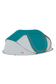Coleman Pop Up Instant Tent — Four Person, Blue, hi-res
