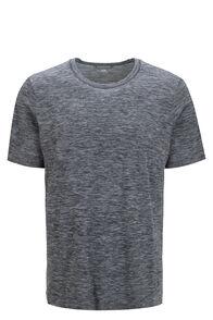 Macpac Men's Limitless Short Sleeve Tee, Total Eclipse, hi-res