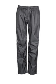 Macpac Hightail Pertex® Rain Pants — Women's, Black, hi-res