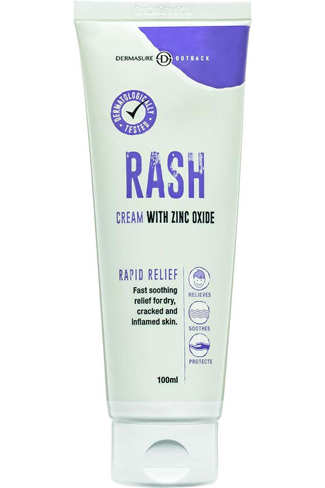 Dermasure Rash Cream with Zinc Oxide, None, hi-res