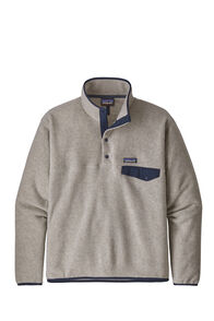 Patagonia LW Synch Snap-T Pullover — Men's, Oatmeal Heather, hi-res