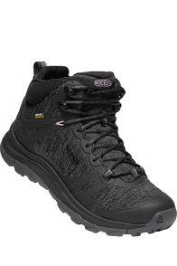 Keen Terradora II Mid WP Hiking Boots — Women's, Black Magnet, hi-res
