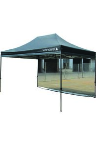 Wanderer Gazebo Ultimate Jumbo Heavy Duty 3x4m Mesh Wall Kit, None, hi-res