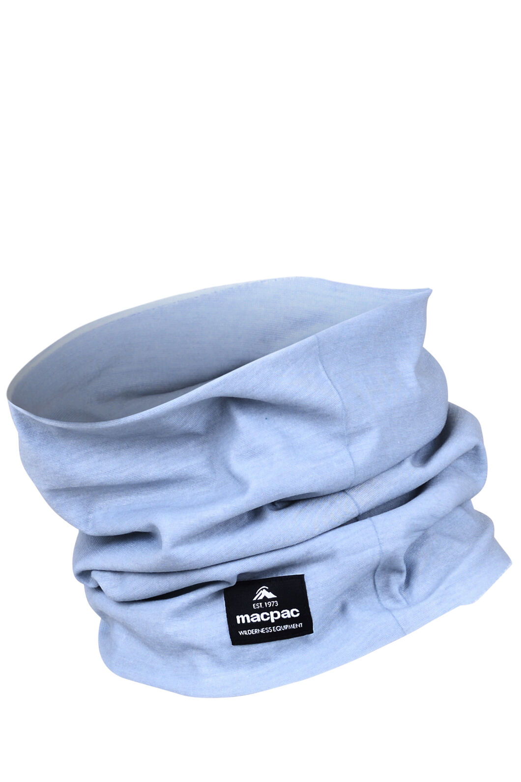 Macpac Light Neck Gaiter, Pearl Blue, hi-res