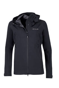 Macpac Fitzroy Alpine Series Softshell Jacket — Women's, Black, hi-res