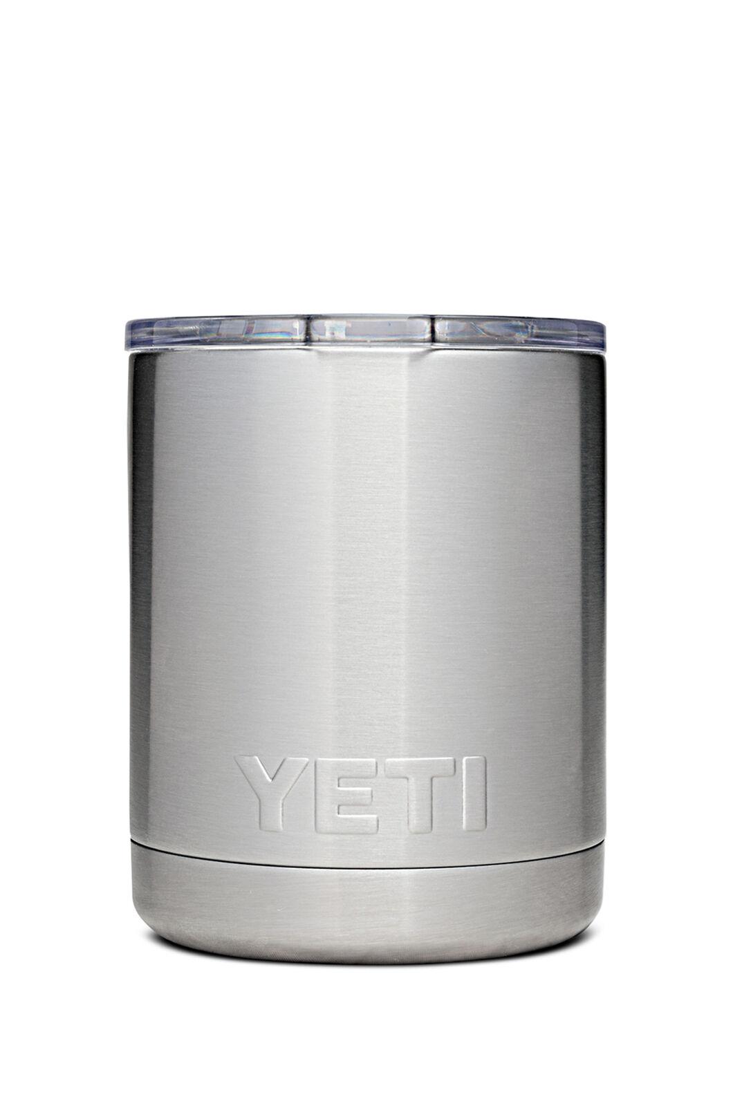 YETI® Rambler Lowball Tumbler — 10oz, Silver, hi-res
