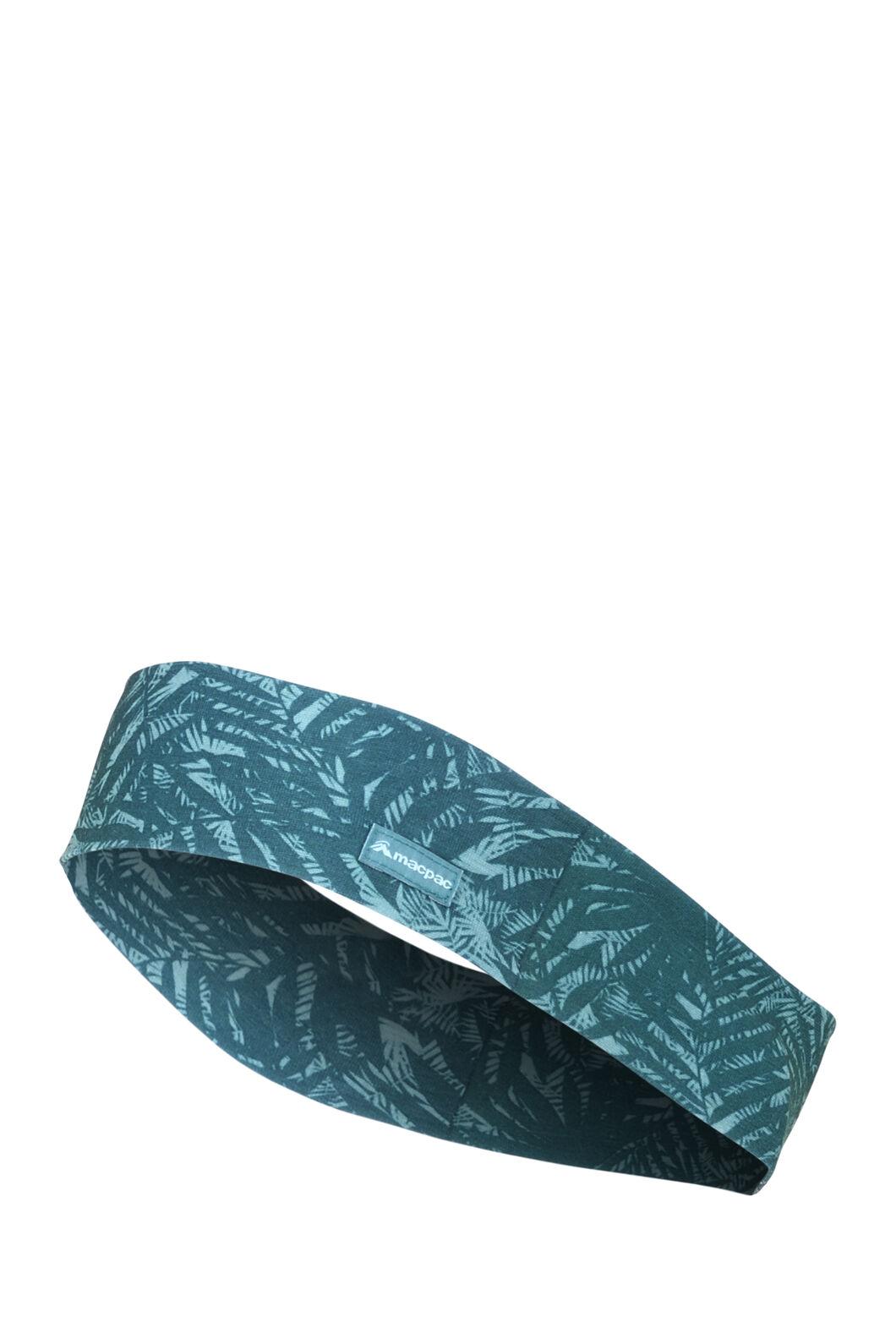 Macpac Light Headband, Bayberry Print, hi-res