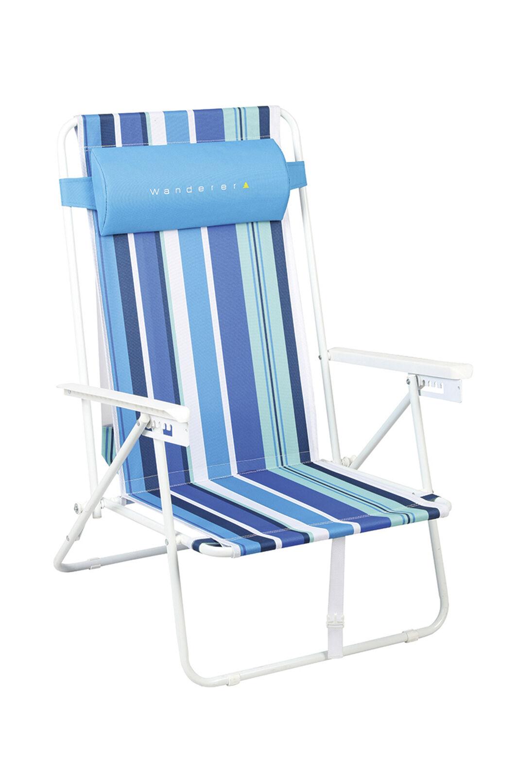 Wanderer Summer Stripe Beach Chair, Stripe, hi-res