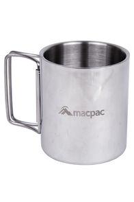Macpac Stainless Steel Mug, Silver, hi-res