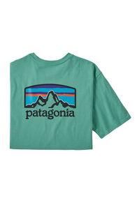 Patagonia Fitz Roy Horizons Responsibili-Tee® — Men's, Light Beryl Green, hi-res