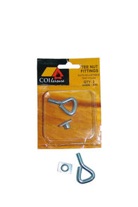 COI Leisure Tee Nut & Eyebolt, None, hi-res