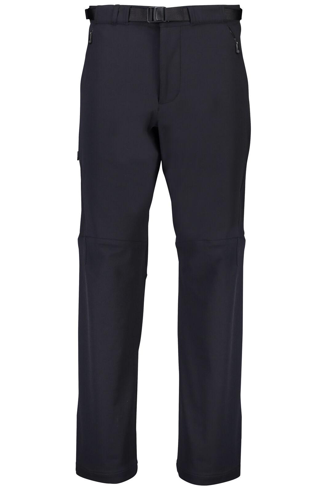 Macpac Nemesis Softshell Pants — Men's, Black, hi-res