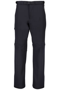 Macpac Nemesis Softshell Pants — Men's, Black, hi-res