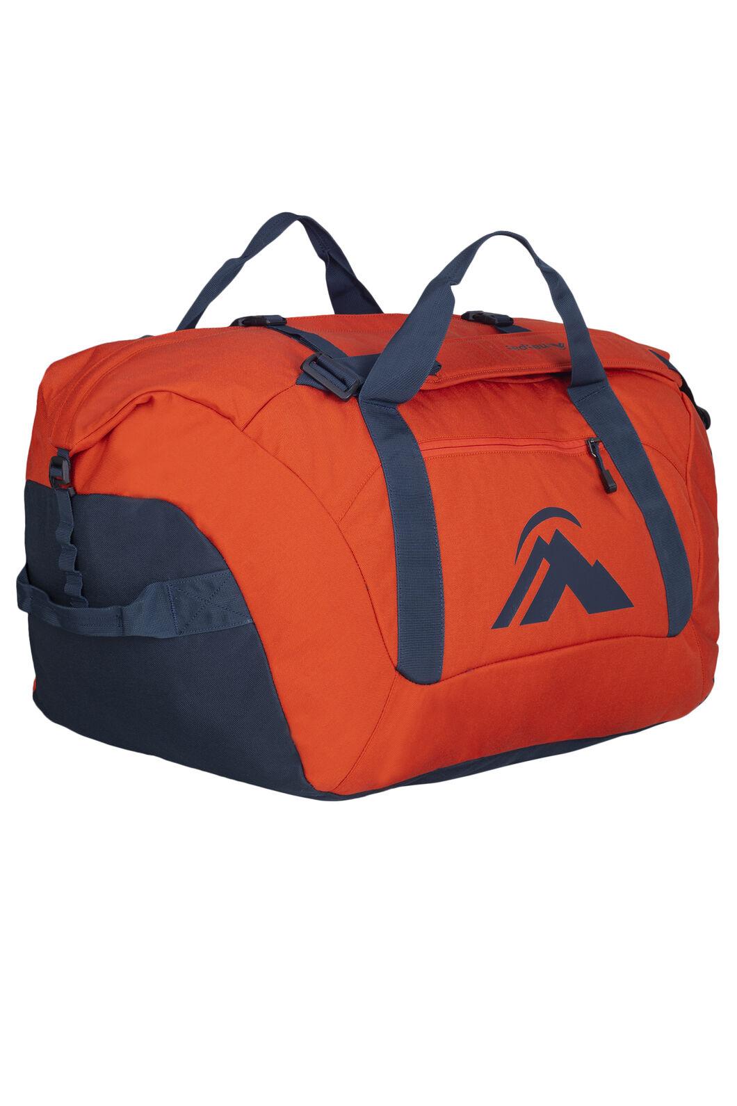 Macpac 80L Duffel Bag, Pumpkin, hi-res