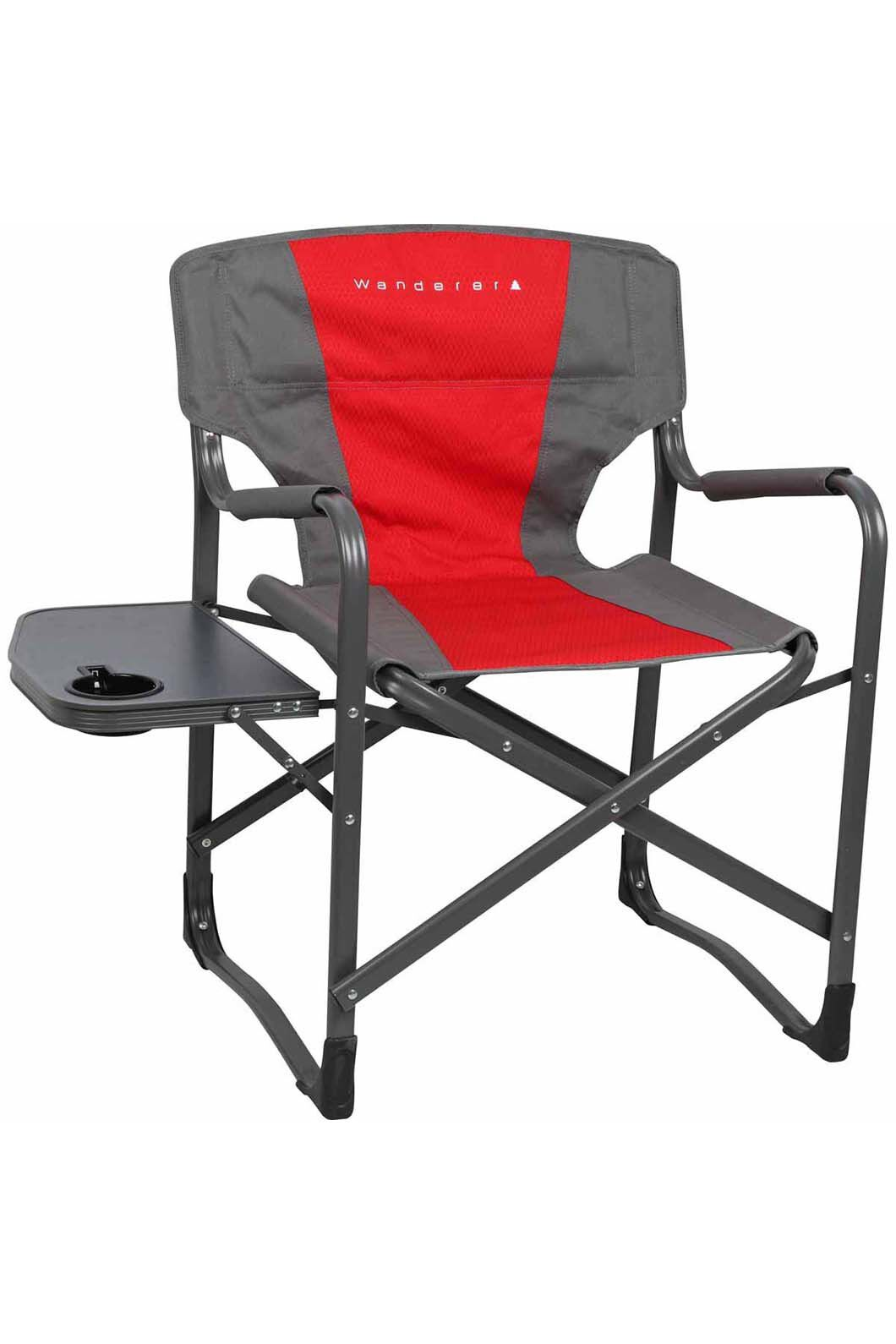 Wanderer Directors Chair with Side Table, None, hi-res