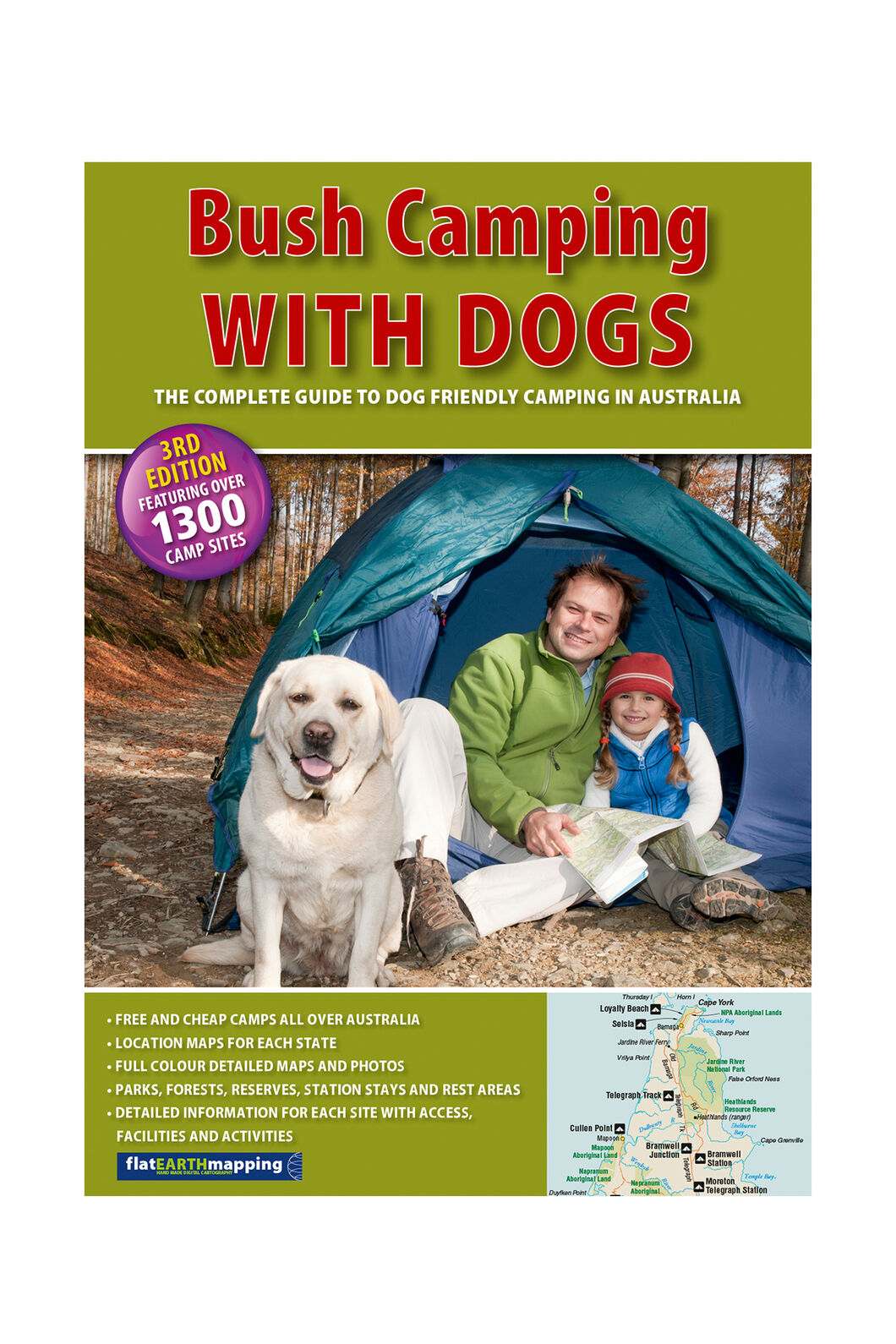 AFN Bush Camping with Dogs Guide, None, hi-res