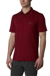 Columbia Men's Tech Trail™ Polo Shirt, Red Jasper, hi-res