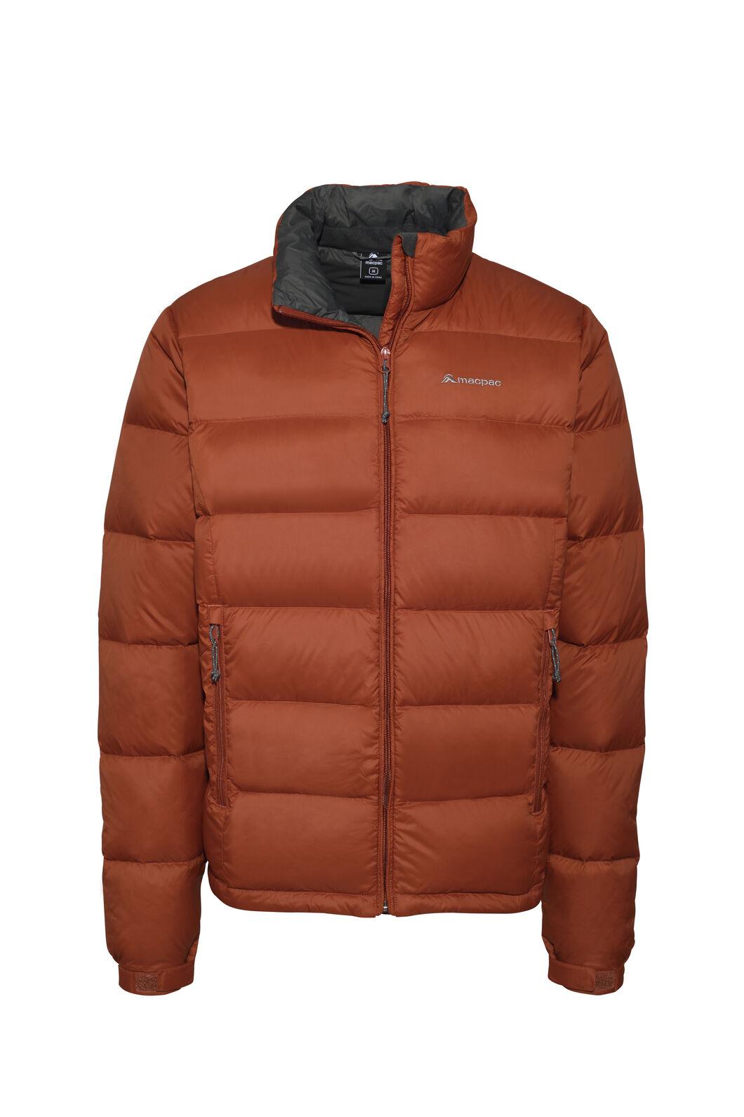 Macpac Halo Down Jacket — Men's, Burnt Henna, hi-res