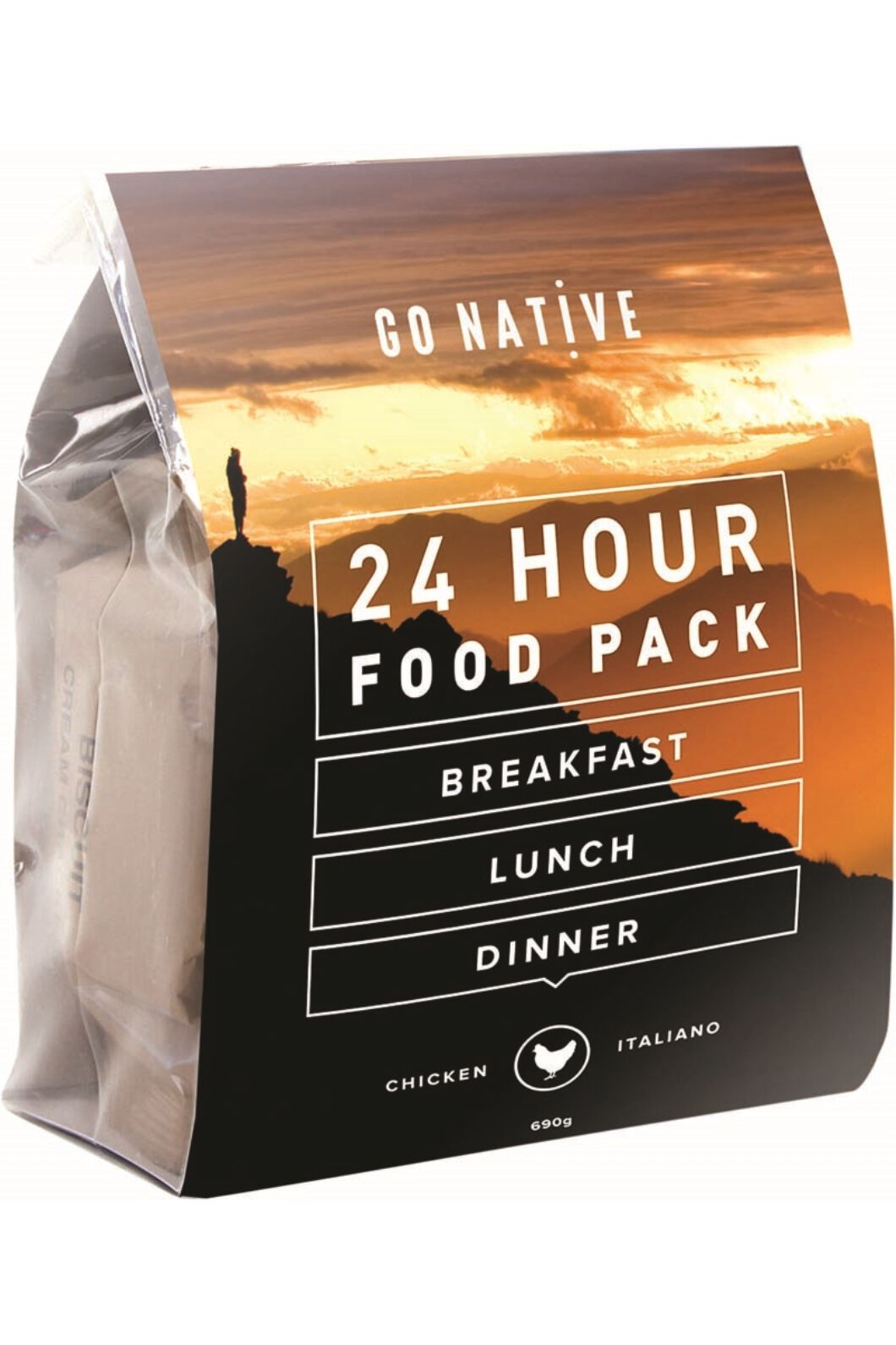 Go Native All Day Expedition Food - Chicken Italiano, None, hi-res