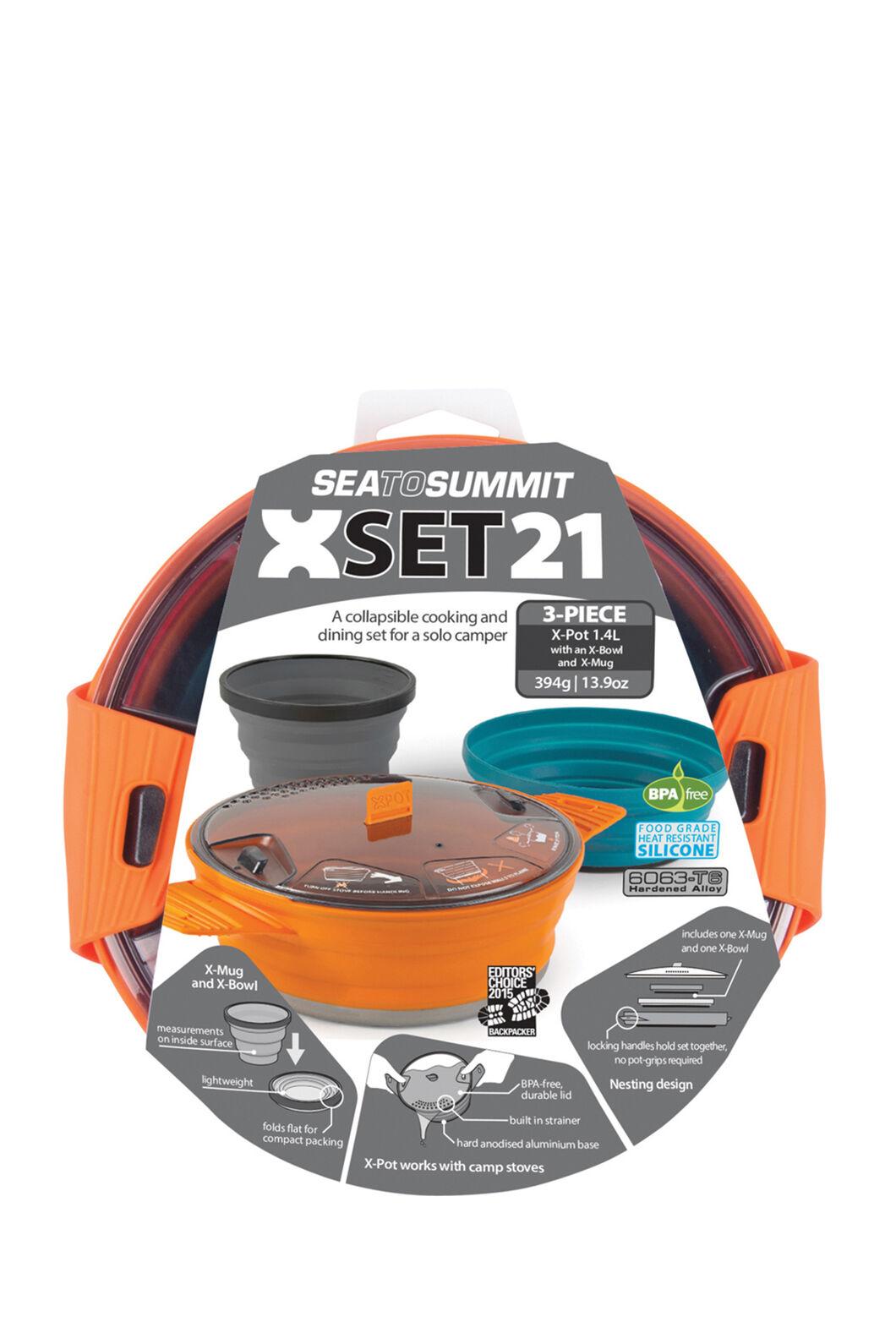 Sea to Summit 3 Piece X-Set 21 Cooking Set, None, hi-res