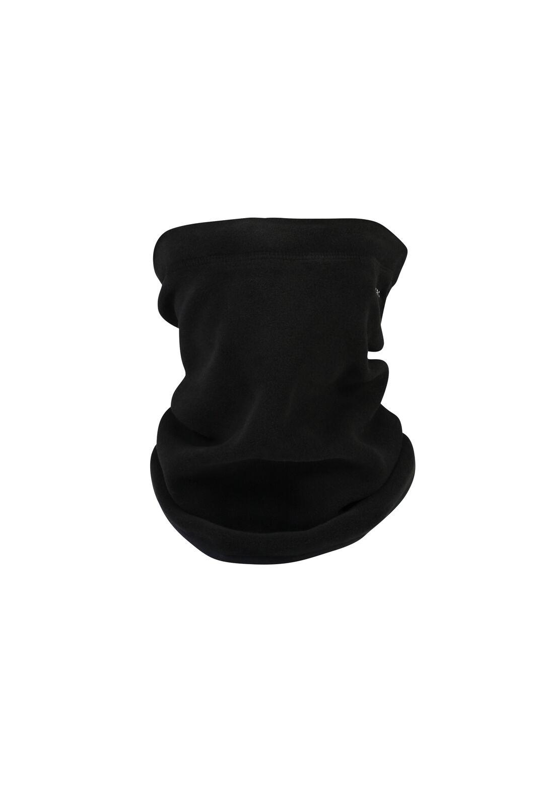 Macpac Kaka Polartec® Micro Fleece Neck Gaiter, Black, hi-res