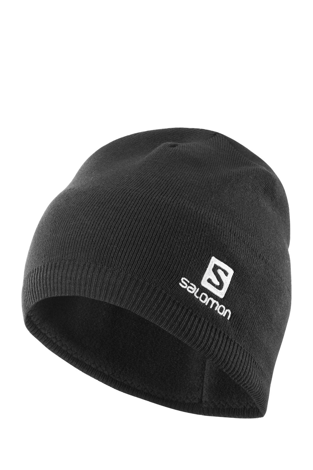 Salomon Beanie, Black, hi-res