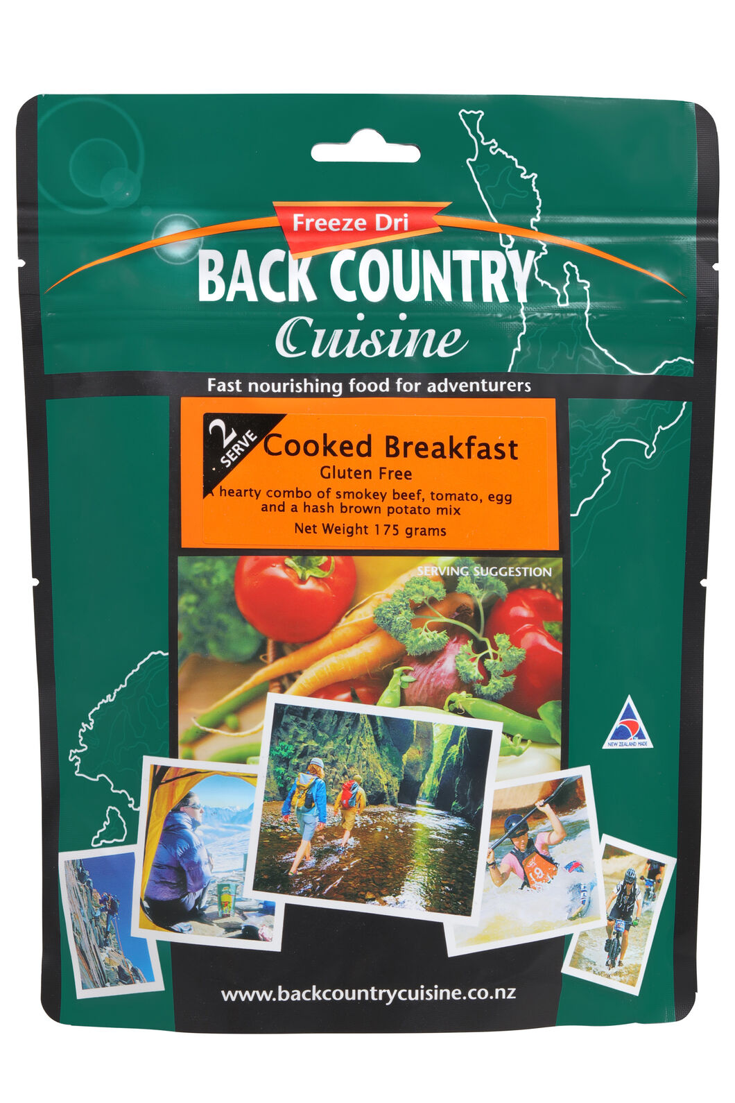 Back Country Cooked Breakfast - 2 Serves, None, hi-res