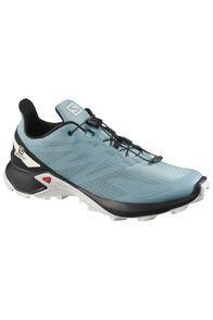 Salomon Men's Supercross Blast Trail Running Shoes, SmokBl/Black/LunR, hi-res
