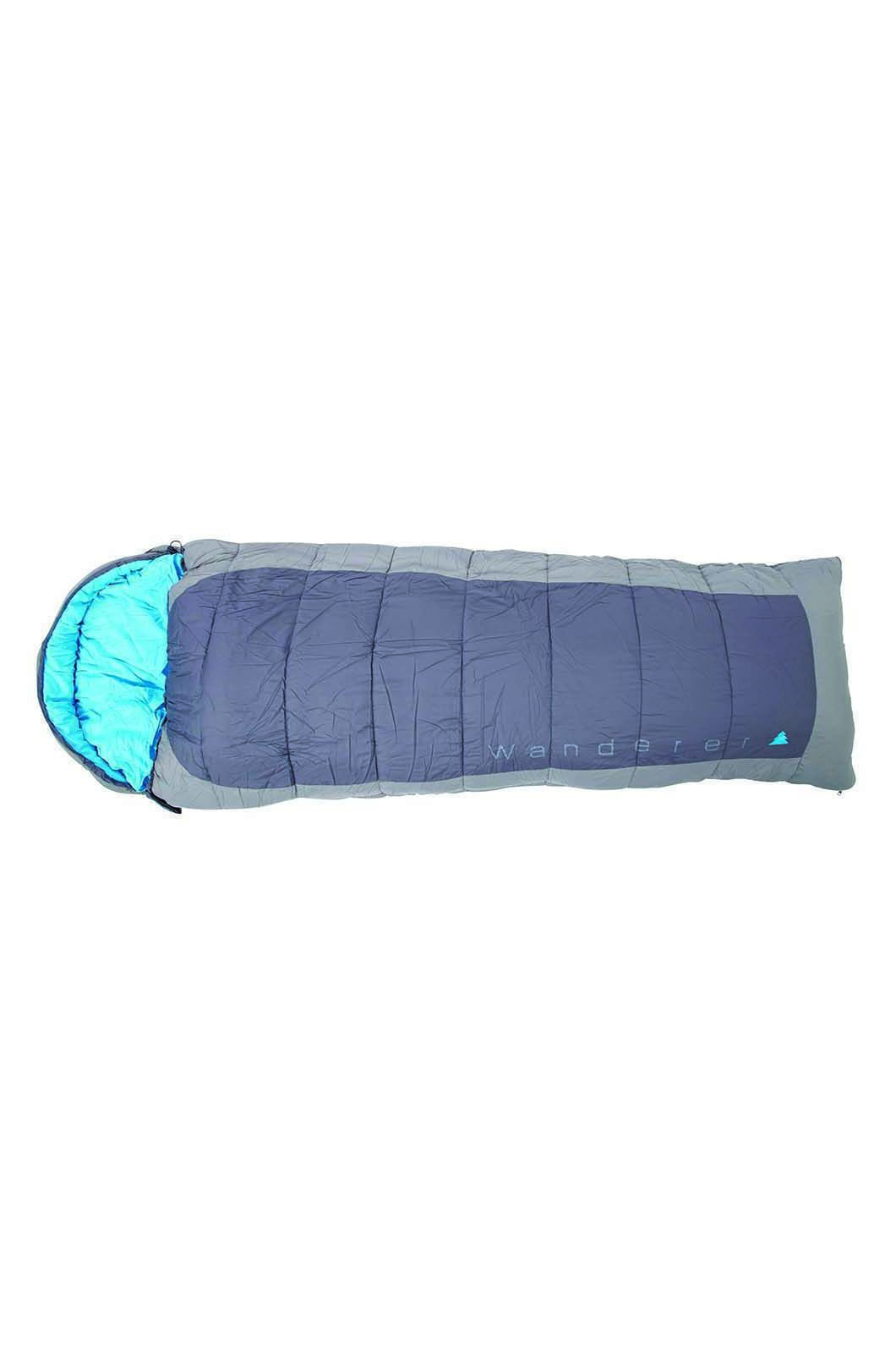 Wanderer SureFlame Hooded Sleeping Bag, None, hi-res