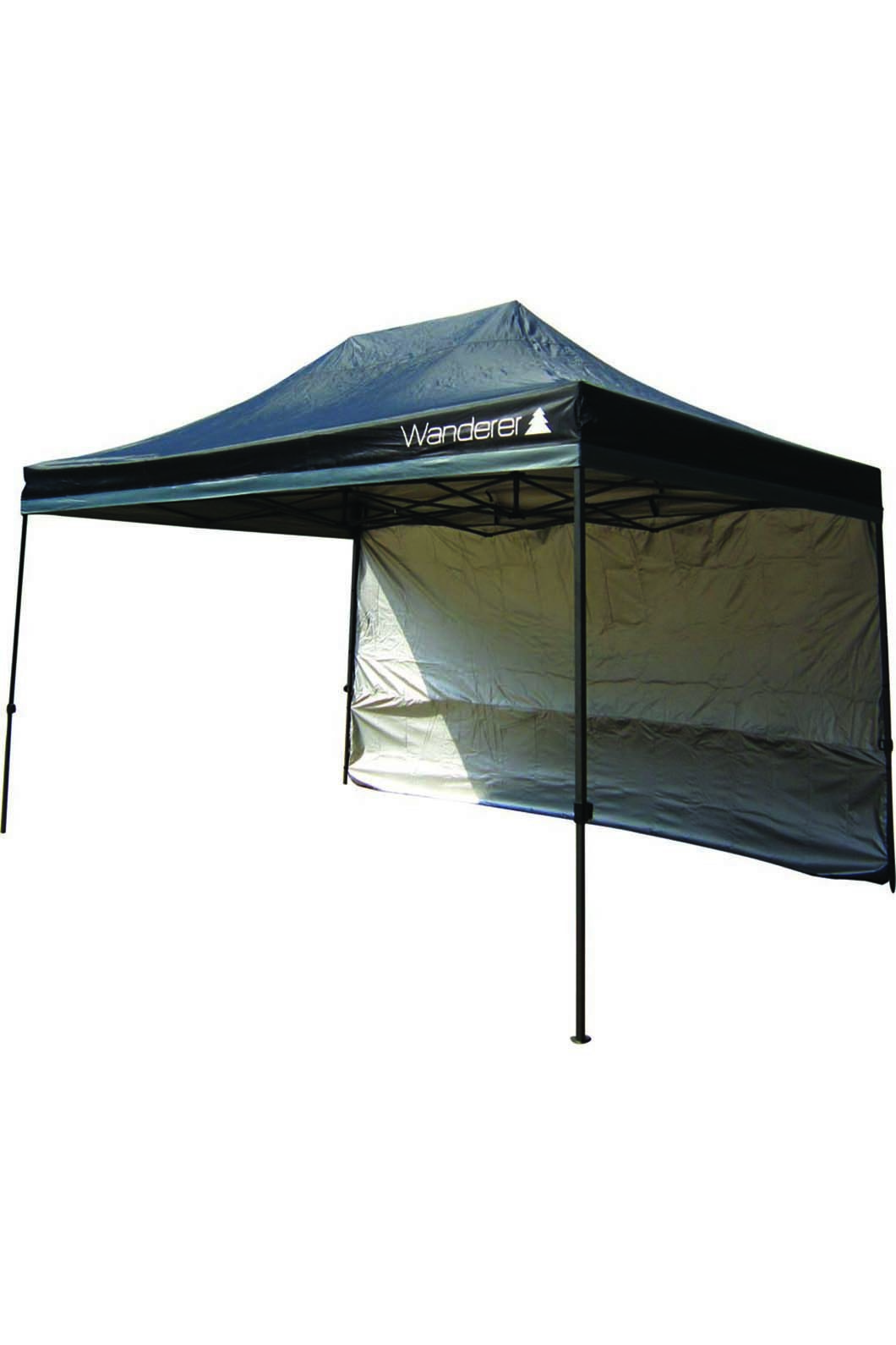 Wanderer Gazebo Ultimate Jumbo Heavy Duty 3x4m Solid Wall Kit, None, hi-res
