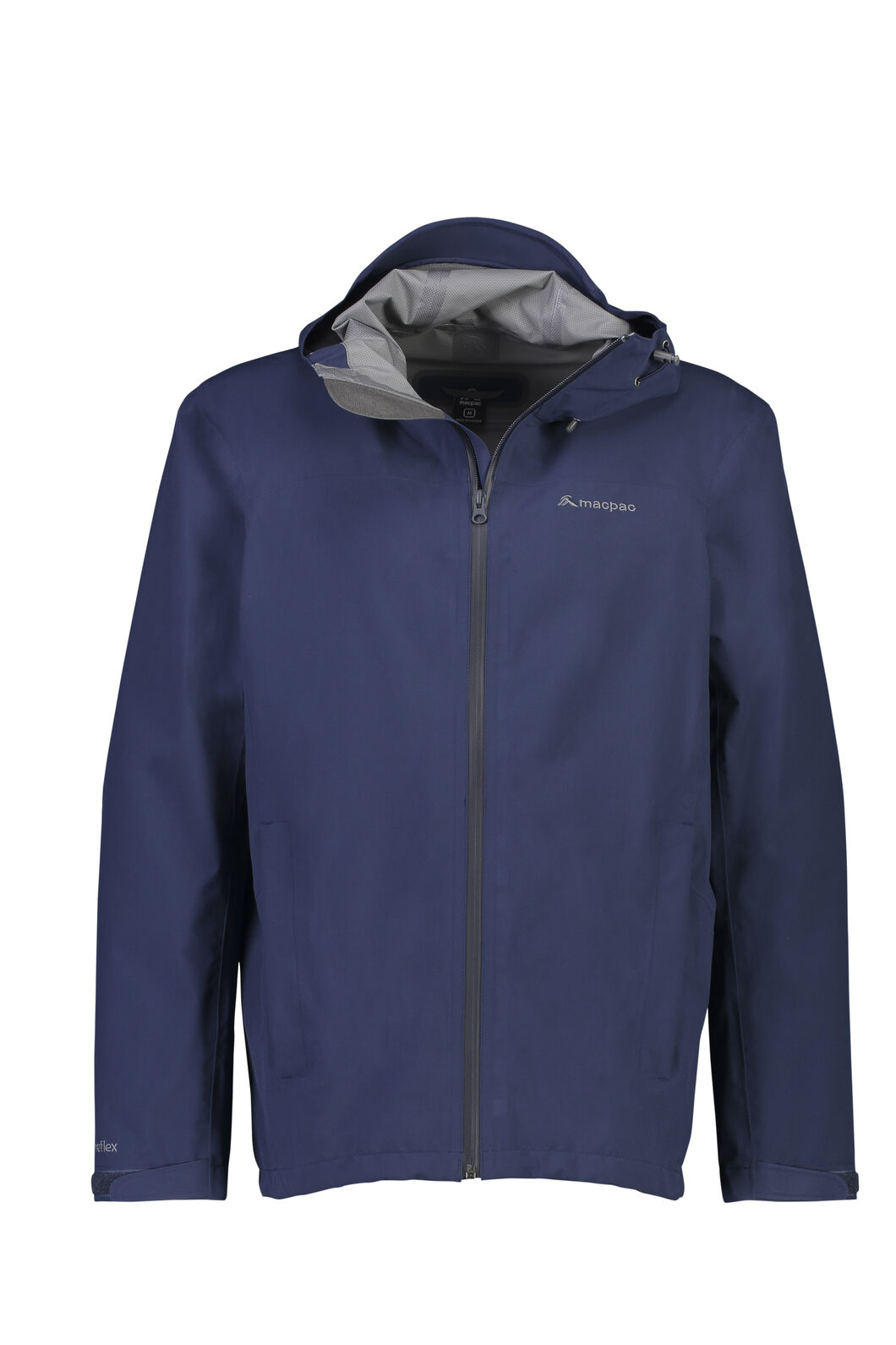 Macpac Dispatch Rain Jacket - Men's, Black Iris, hi-res