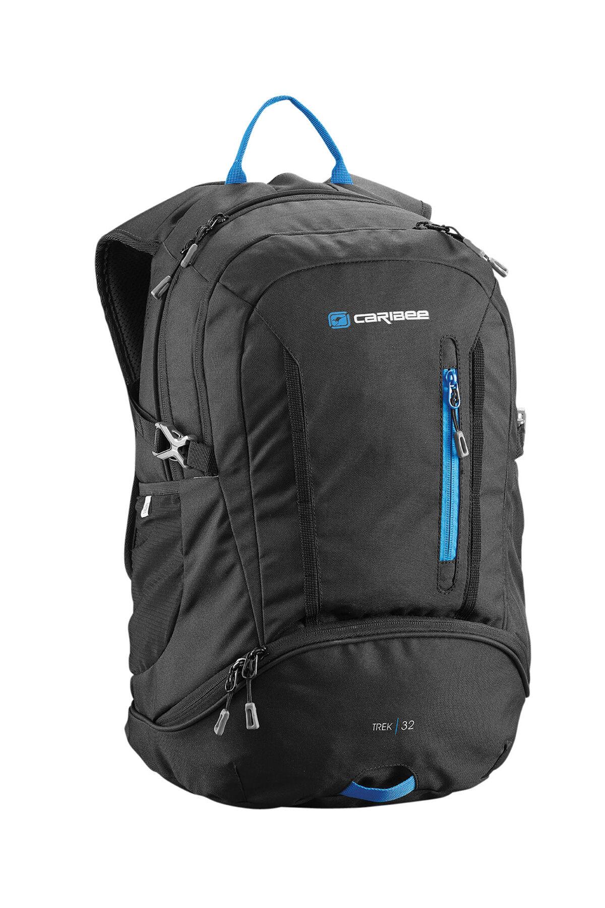 Caribee Trek 32LT Outoor Adventure Backpack Day Pack BLACK