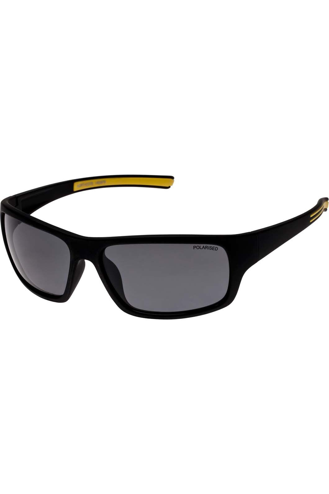 Cancer Council Men's Northcote Polarised Sunglasses, Black, hi-res