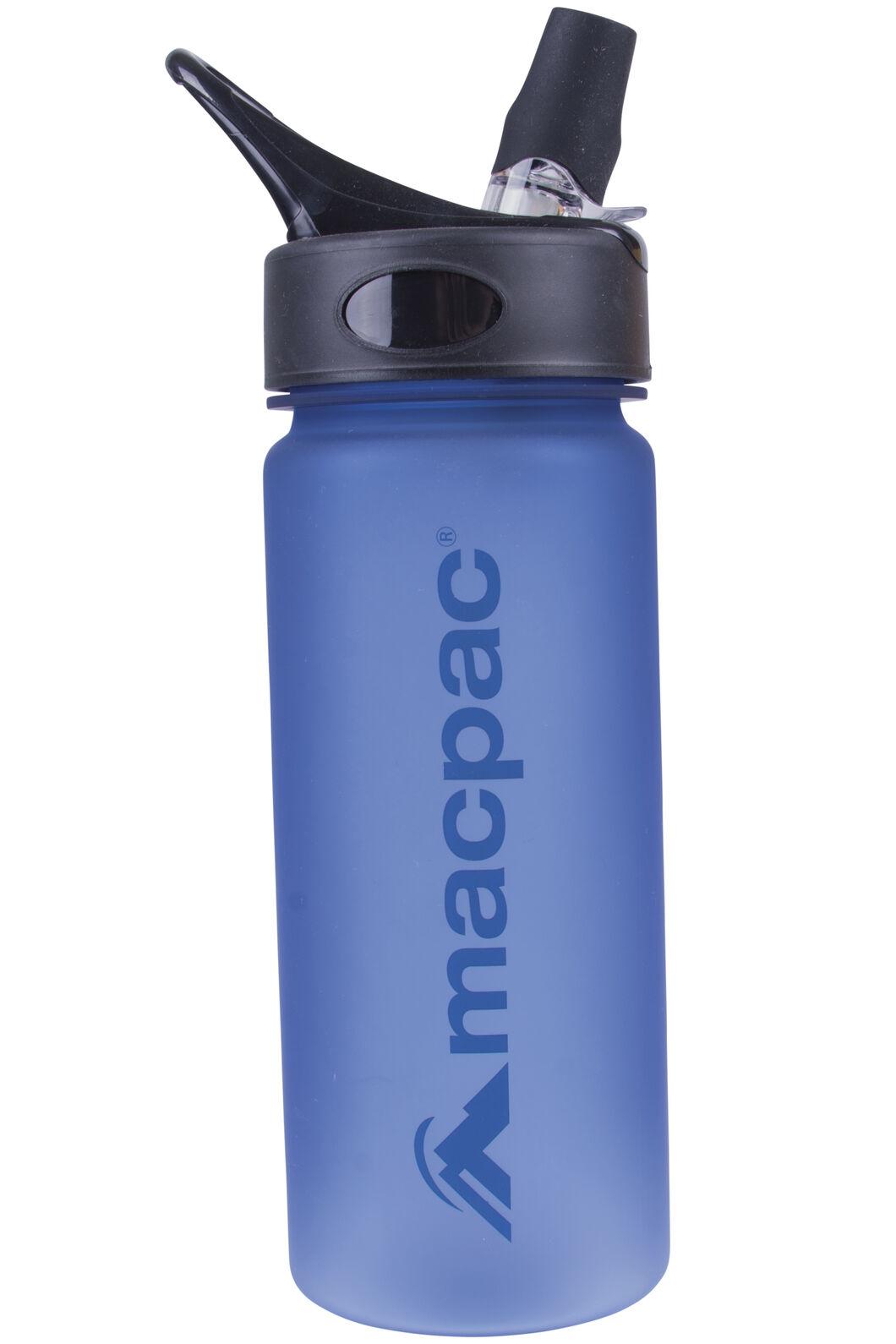 Macpac Flip Top Drink Bottle — 550 mL, Methyl/Dark Blue, hi-res
