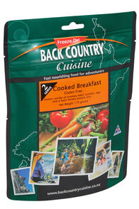 Back Country Cuisine Freeze Dried Food Cooked Breakfast 2 Serves, None, hi-res