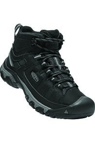 Keen Men's Targhee EXP Hiking Boots, Black/Steel Grey, hi-res