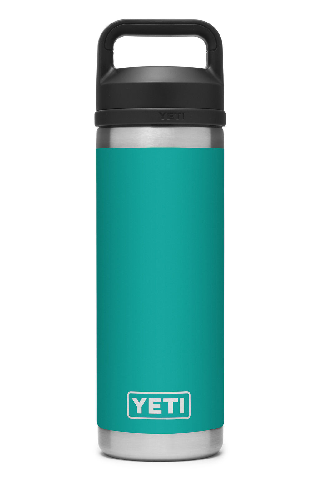 YETI® Rambler Bottle — 18oz, Aquifer Blue, hi-res
