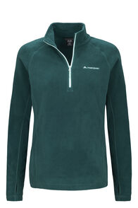 Macpac Tui Polartec® Micro Fleece® Pullover — Women's, Reflecting Pond, hi-res