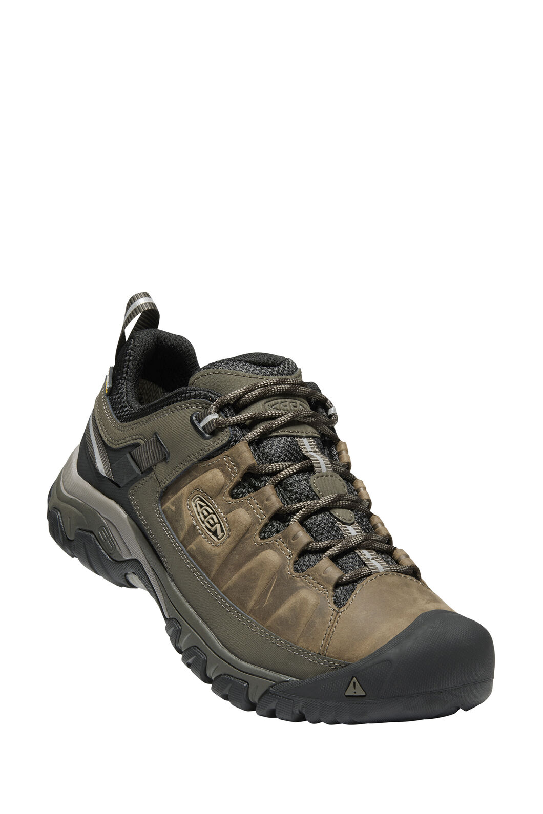Keen Targhee III WP Hiking Shoes — Men's, Bungee Cord/Black, hi-res