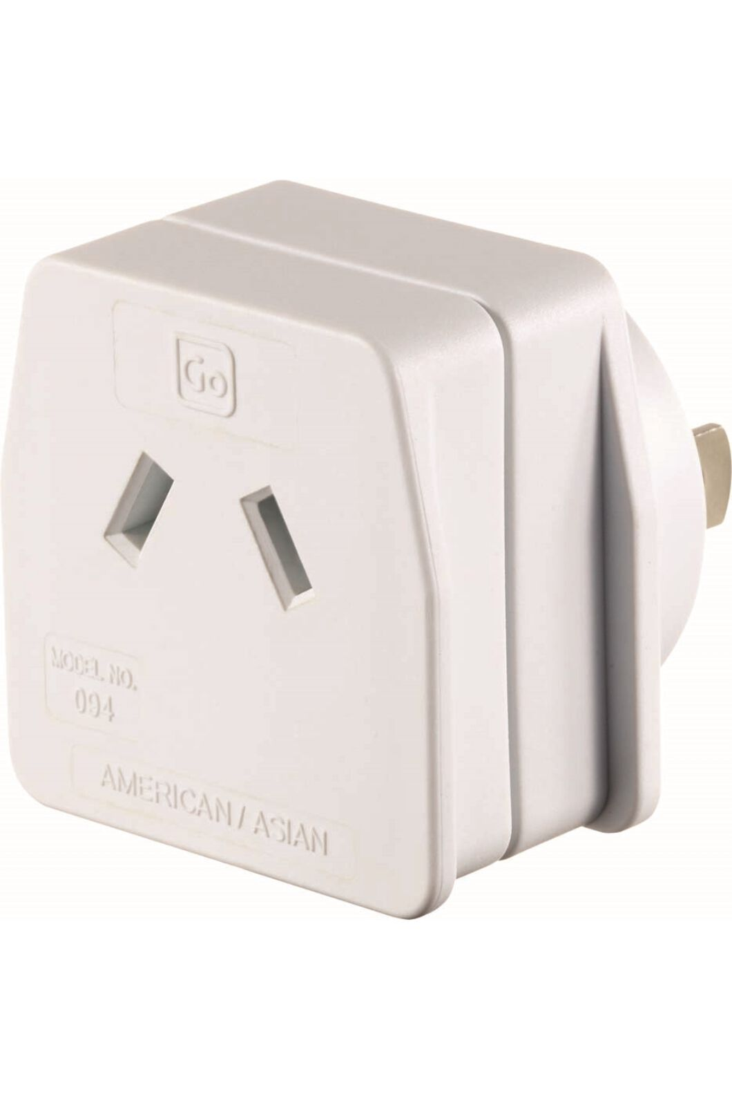 Go Travel American To Asian Travel Adaptor, None, hi-res