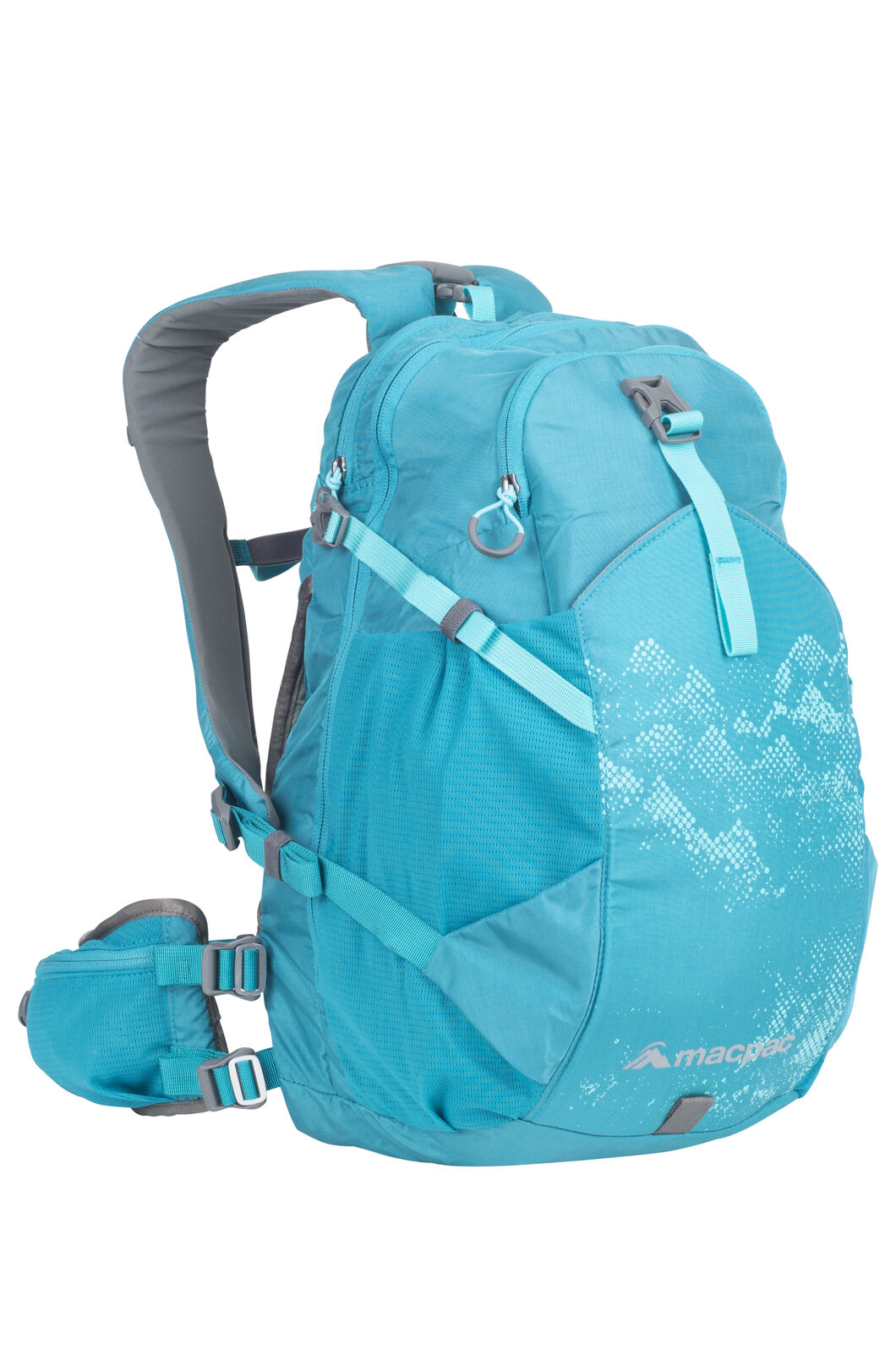 Macpac Mountain Bike 18L Pack, Enamel Blue, hi-res