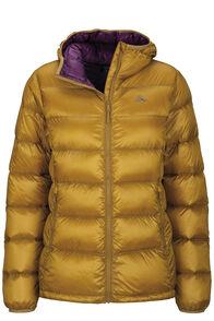 Macpac Women's Jupiter Hooded Down Jacket, Dried Tussock, hi-res