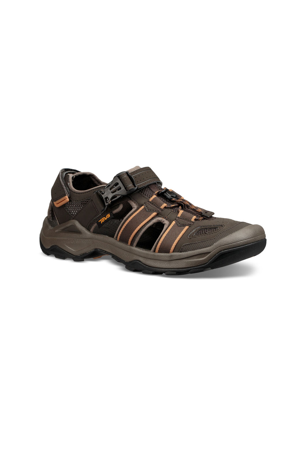 Teva Omnium 2 Closed-Toe Sandals — Men's, Black Olive, hi-res