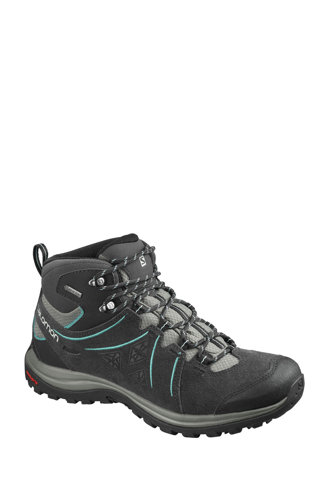 Salomon Women's Ellipse 2 GTX Hiking Boot, Black, hi-res