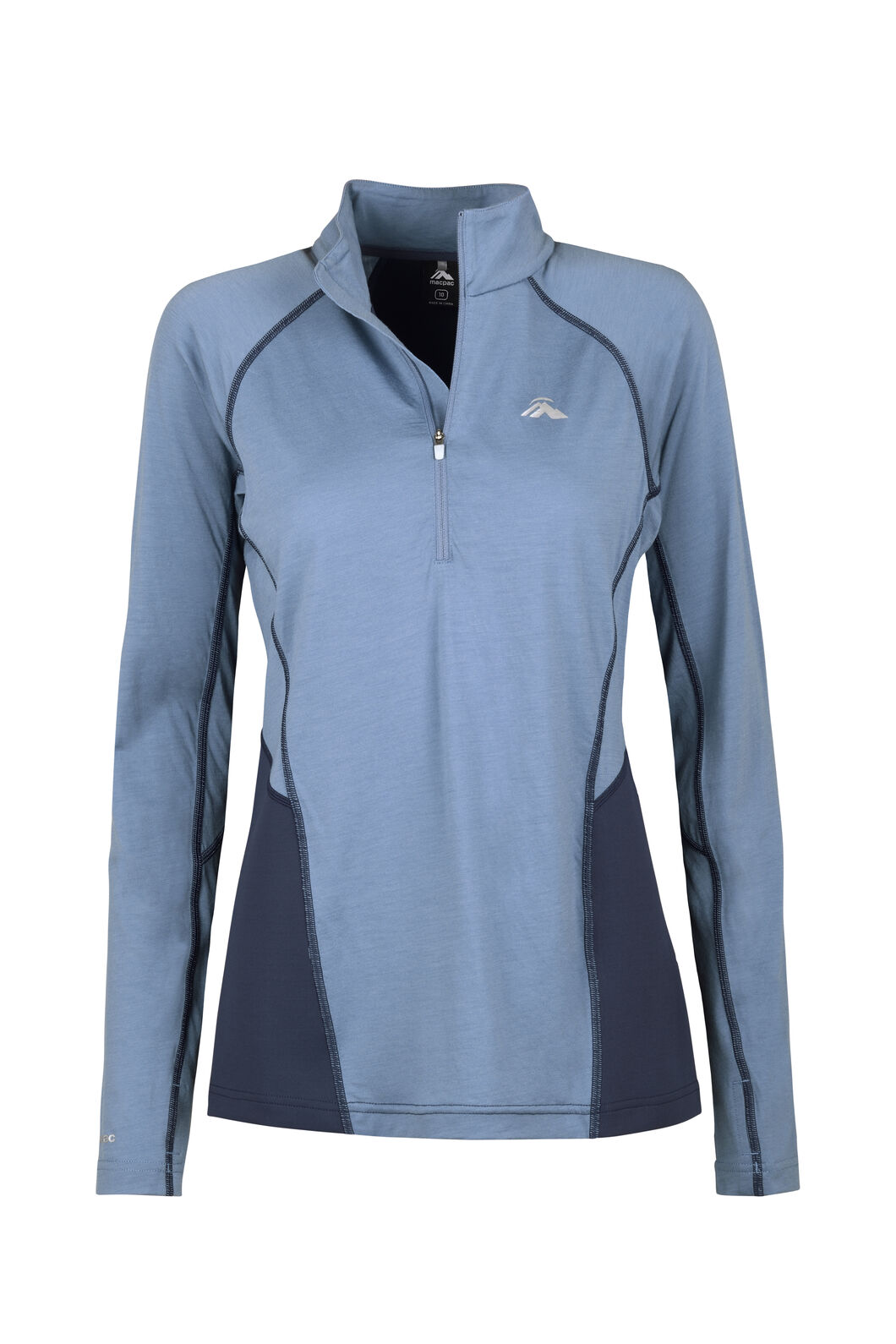 Macpac Casswell Long Sleeve Shirt - Women's, China Blue/Mood Indigo, hi-res
