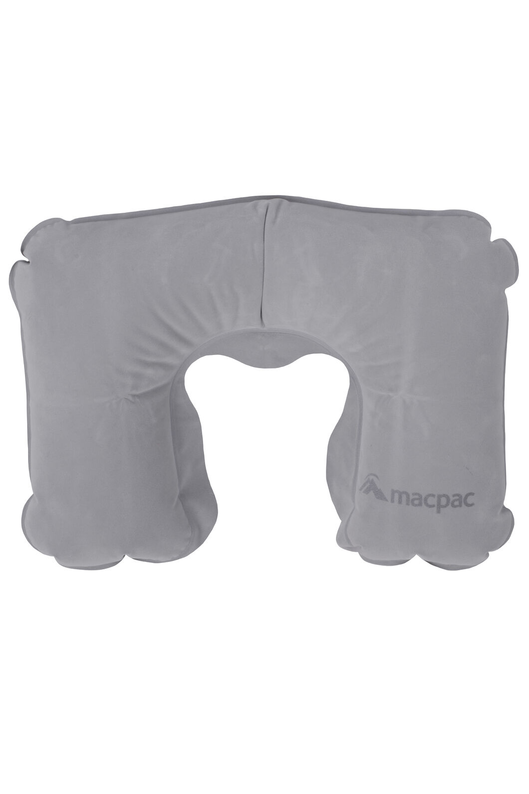 Macpac Inflatable Travel Pillow, Charcoal, hi-res
