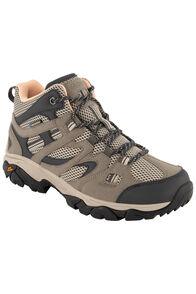 Hi-Tec Women's Ravus Vent Lite Mid WP Hiking Shoes, Taupe Warm/Mellow Rose, hi-res