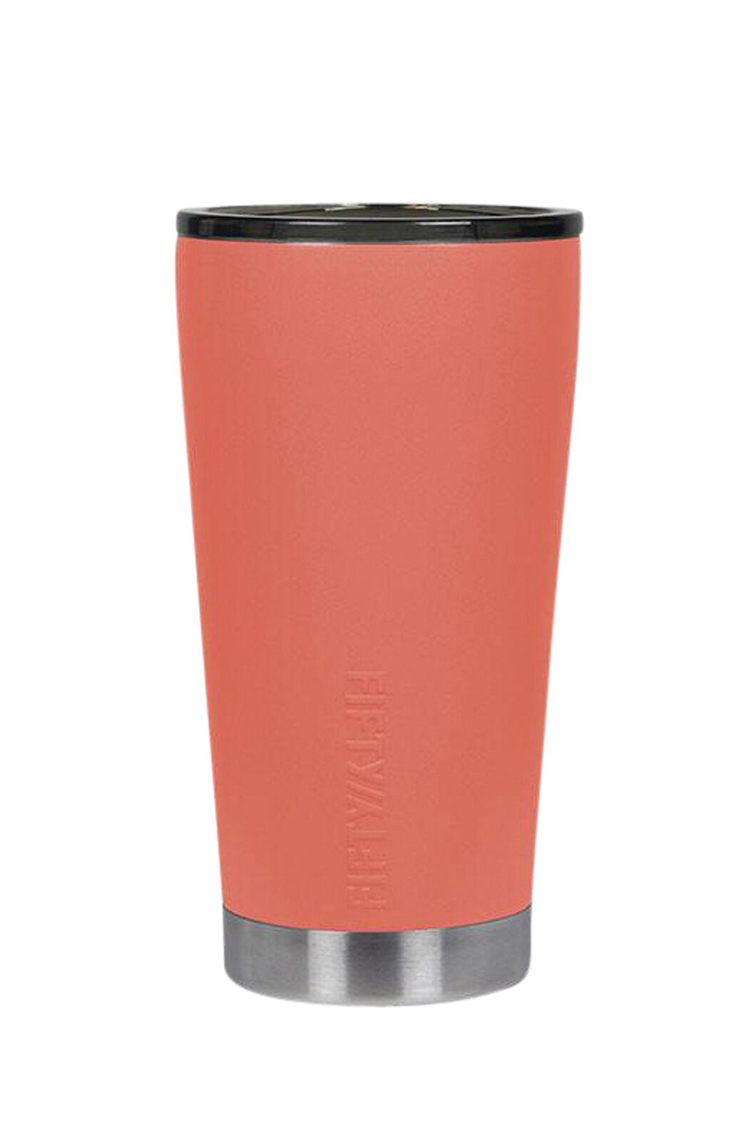 FIFTY/FIFTY® Insulated Tumbler — 16 oz./473 ml, Coral, hi-res