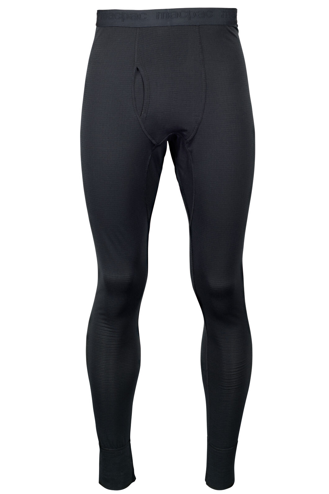 Macpac ProThermal Long Johns - Men's, Black, hi-res