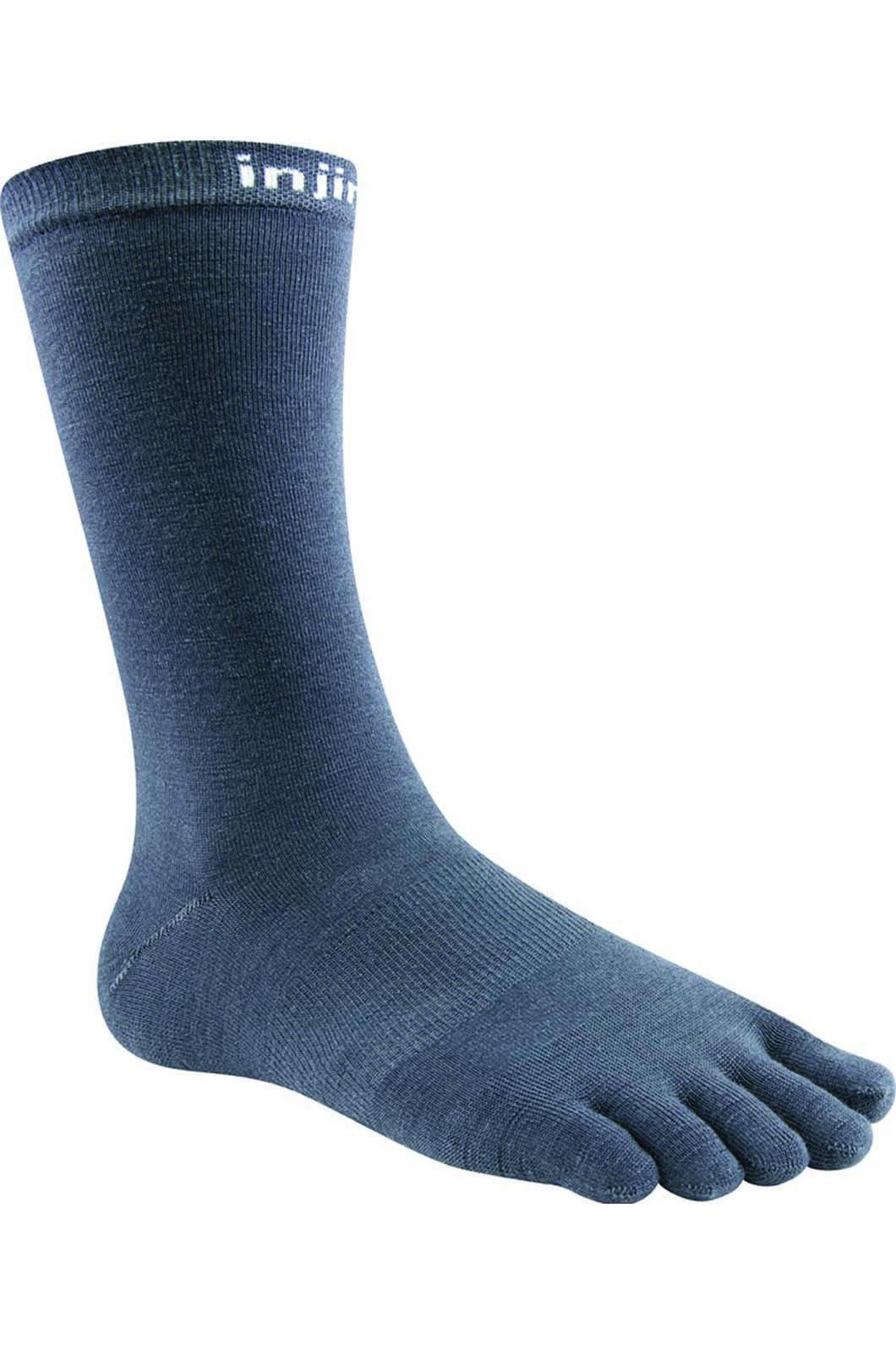 Injinji Unisex NuWool Sock Liner, Charcoal, hi-res